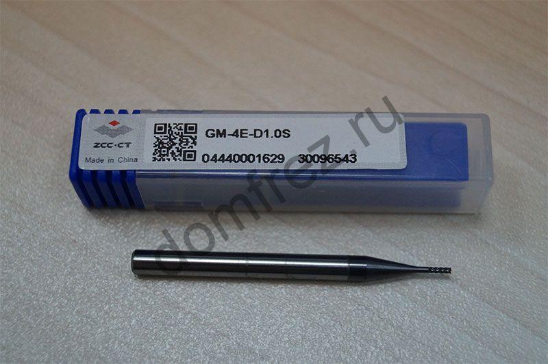 Фреза GM-4E-D1.0S