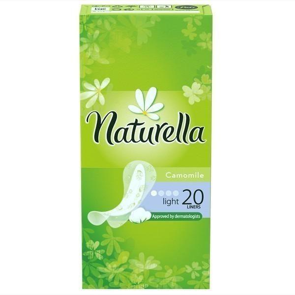 Прокладки Натурелла лайт 20шт
