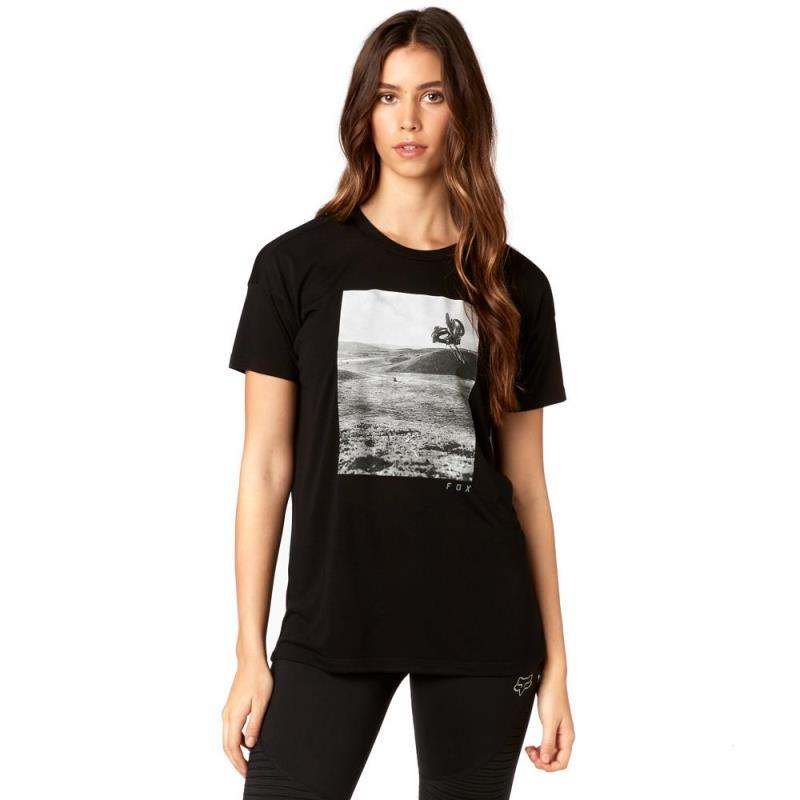 Fox - Picogram SS Crew Black футболка женская, черная