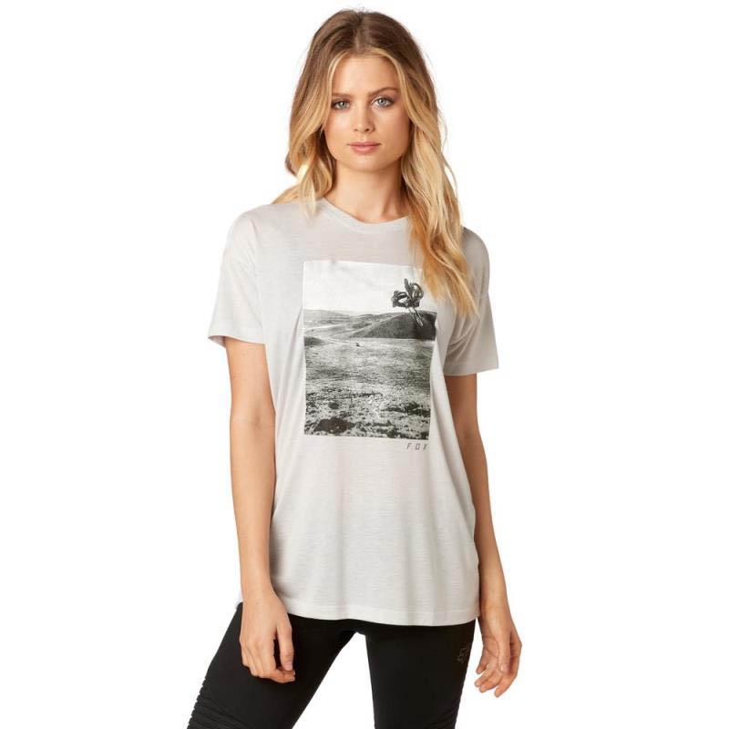 Fox - Picogram SS Crew Cloud Grey футболка женская, серая
