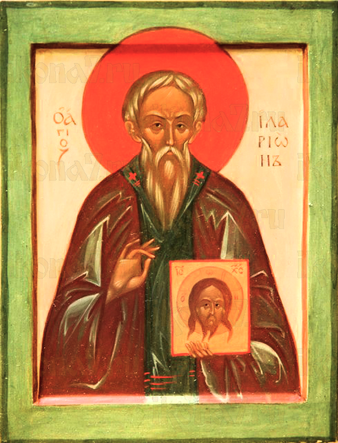 Иларион Новый (Далматский) (рукописная икона)