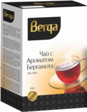 Берга чай с бергамотом 100 гр