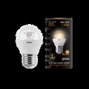 Лампа Gauss LED Globe E27 4W 2700K