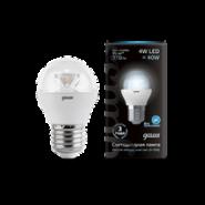 Лампа Gauss LED Globe E27 4W 4100K