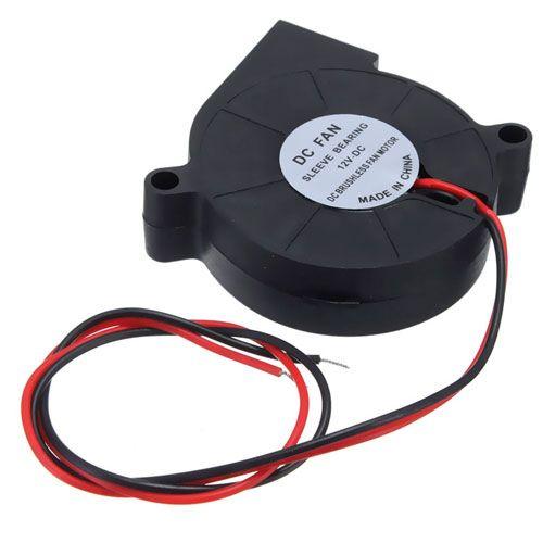 Безщеточный кулер (улитка) Напряжение: 12В, 50х50х15мм