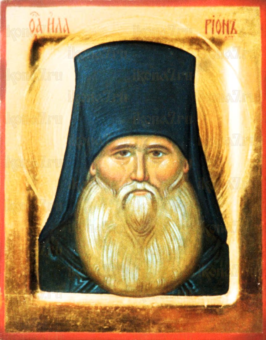 Иларион Оптинский (рукописная икона)