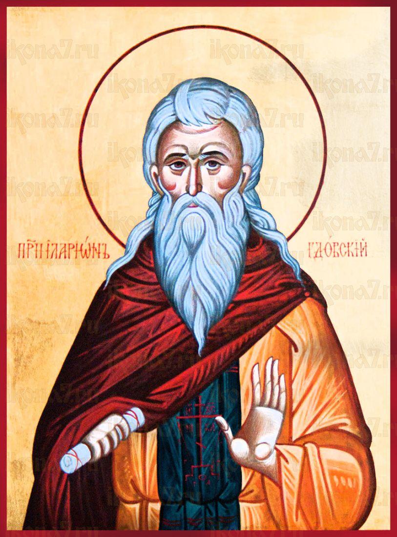 Иларион Псковоезерский (Гдовский) (рукописная икона)