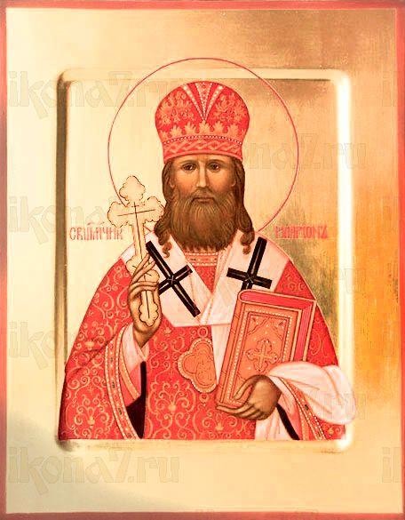 Иларион Троицкий (рукописная икона)