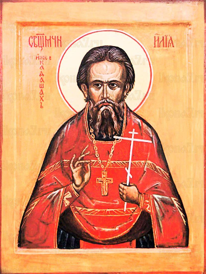 Илия Громогласов (рукописная икона)