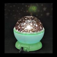 """Ночник-Проектор """"Звездное Небо"""" (зеленая сфера)"""