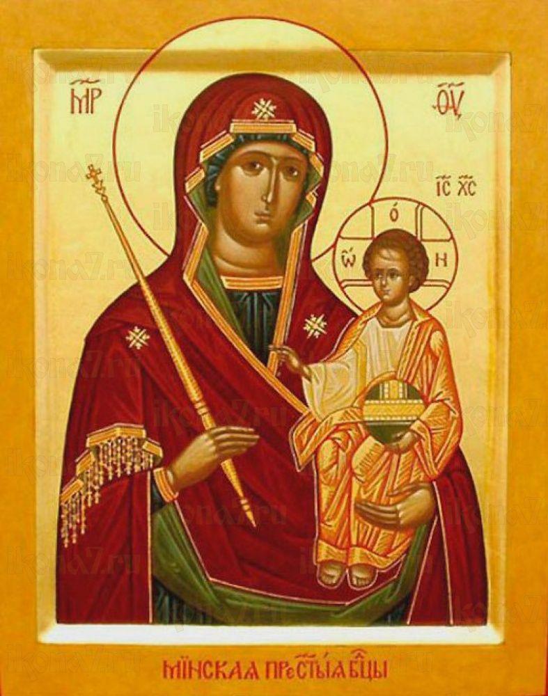 Минская икона БМ (икона на дереве)
