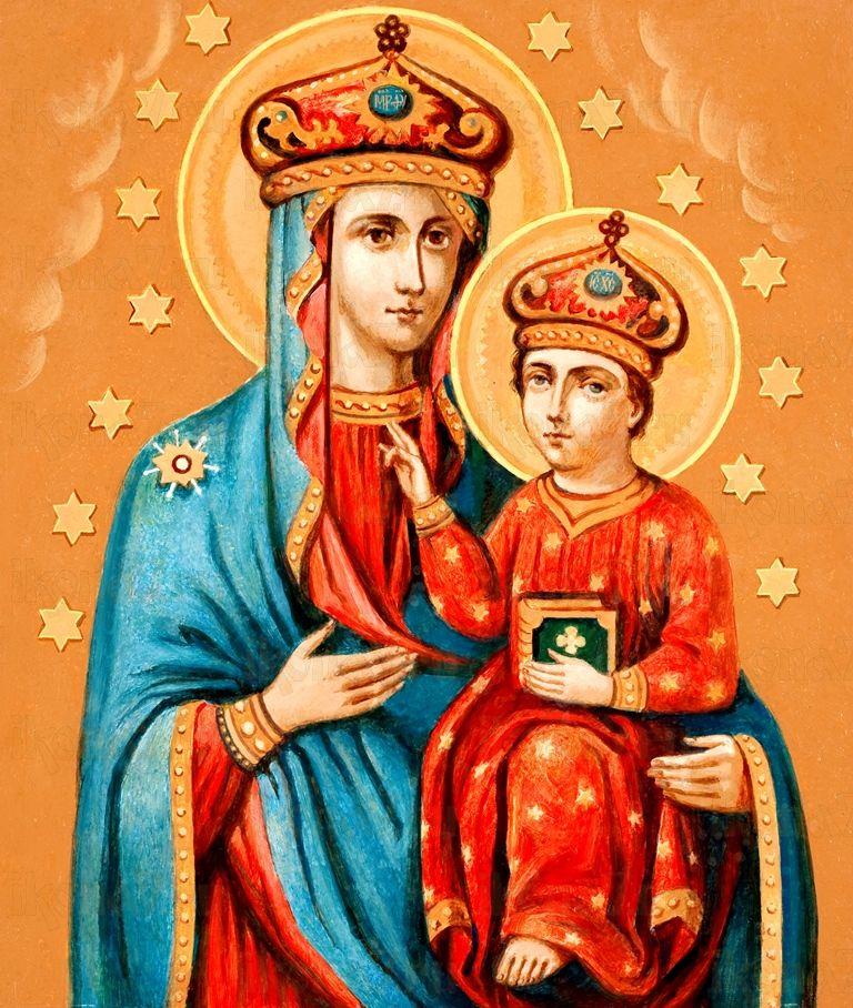 Икона Озерянская икона Божией Матери