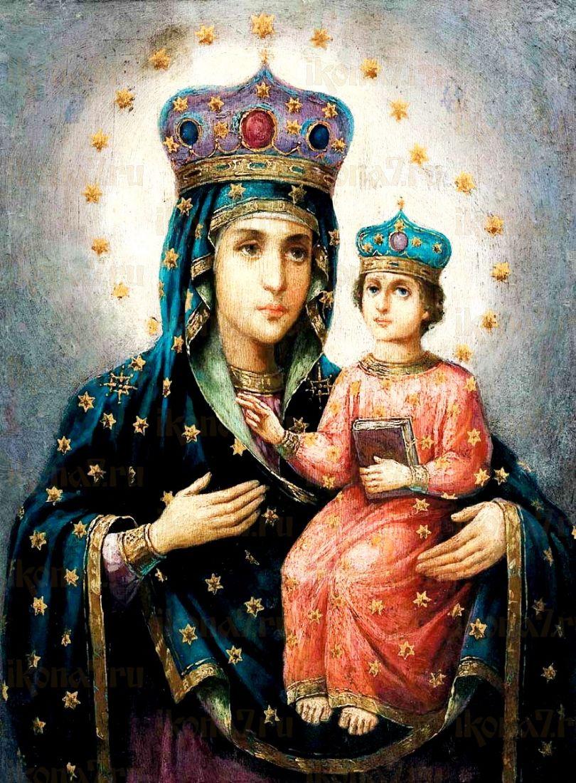 Икона Озерянская икона Божией Матери (копия старинной)
