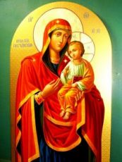 Песчанская икона БМ (икона на дереве)