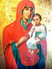 Икона Песчанская икона Божией Матери