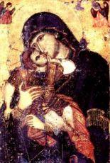 Икона Сладкое лобзание (копия старинной)