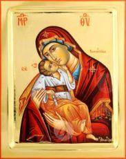 Сладкое лобзание икона Божией Матери