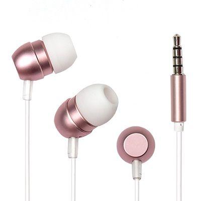 Наушники вакуумные EP-F57 PINK Dialog розовые