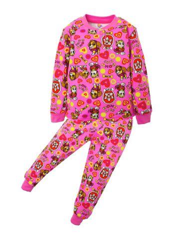 Пижама для девочек 3-7 лет BNU307