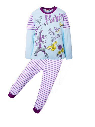 Пижама для девочек 5-8 лет BNU308