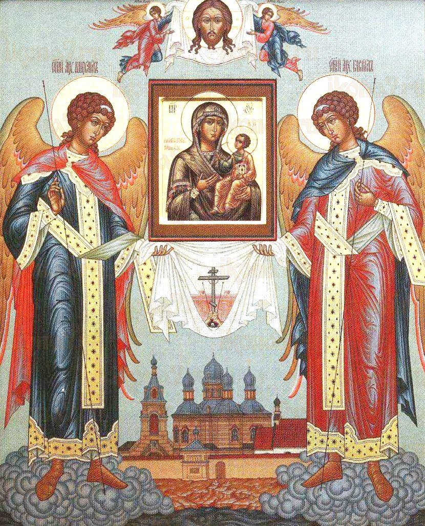 Якобштадтская икона Божией Матери (копия старинной)