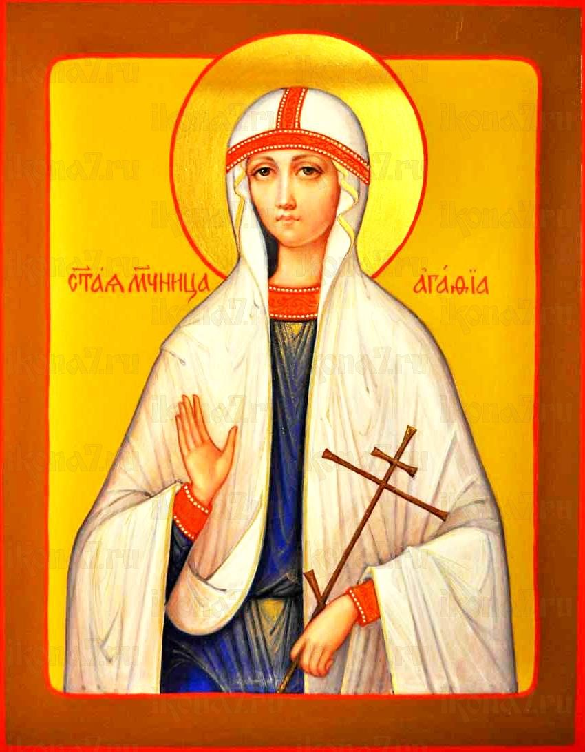 Икона Агафия Панормская