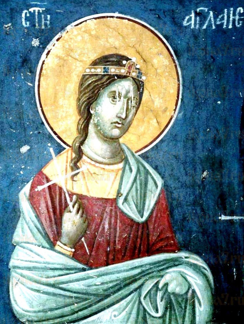 Икона Аглаида Римская (копия старинной)