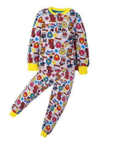 Пижама для мальчика 3-7 лет BNU322