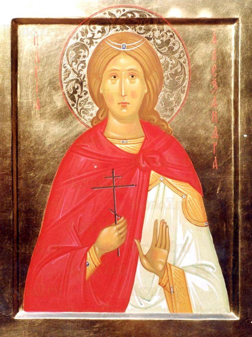Икона Александра Анкирская (Коринфская)