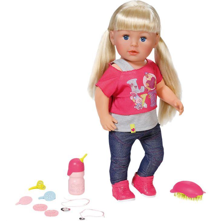 Кукла Сестричка BABY born интерактивная