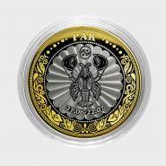 НОВИНКА! РАК, монета 10 рублей, с гравировкой, знаки ЗОДИАКА