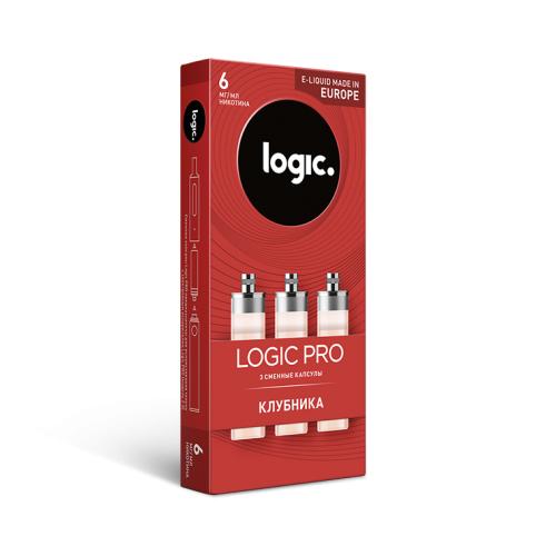 Сменные капсулы Logic Pro Клубника