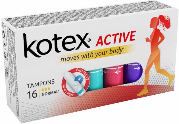 Тампоны Kotex 16шт Active Super