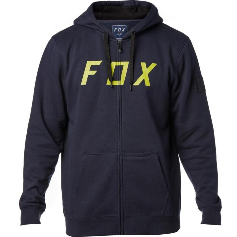Fox - District 2 Zip Fleece Midnight толстовка, синяя