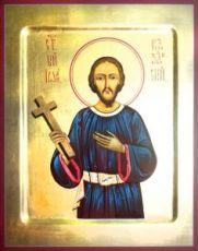 Иоанн Казанский (рукописная икона)