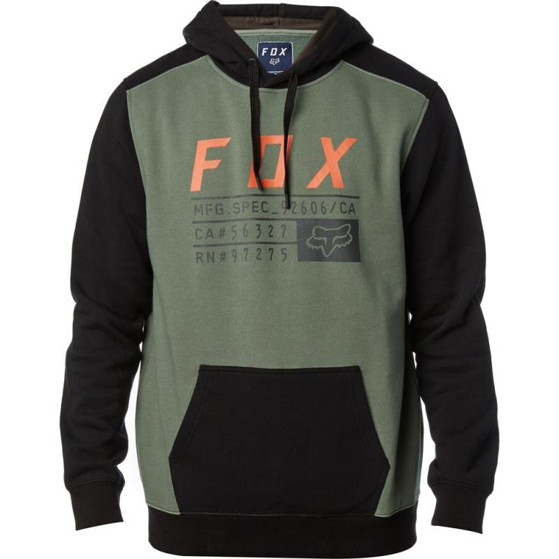 Fox - District 3 Pullover Fleece Dark Fatigue толстовка, серая