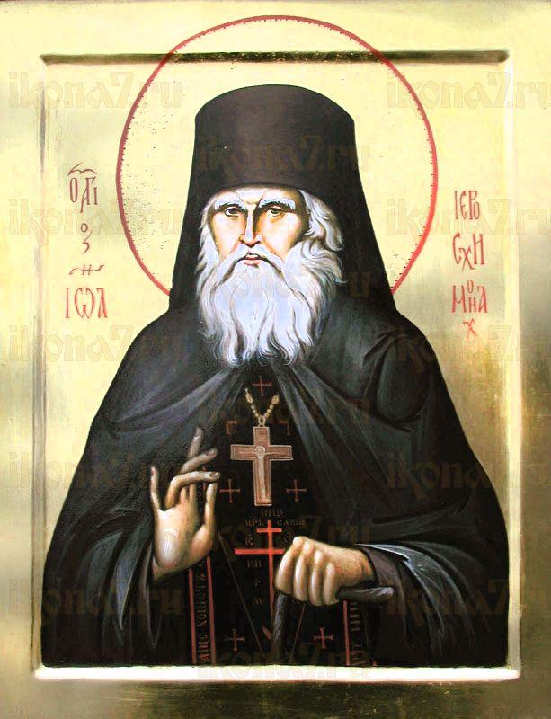 Иоанн Кевролетин (рукописная икона)