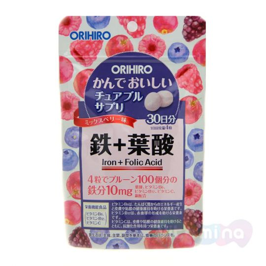 Orihiro Железо с витаминами