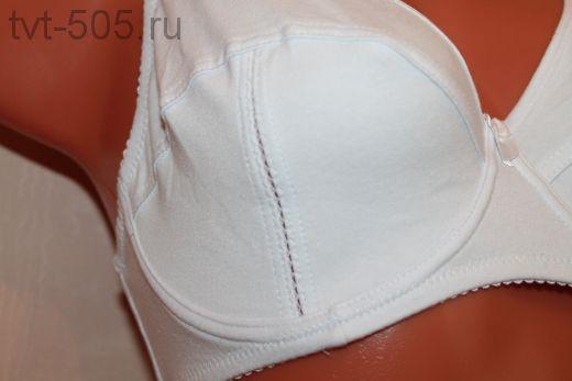 Бюстгальтер Хлопок Blue Rose белый 30852