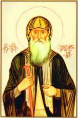 Иоанн Майсурадзе (рукописная икона)
