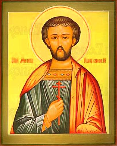 Иоанн Новый (Сочавский)  (рукописная икона)