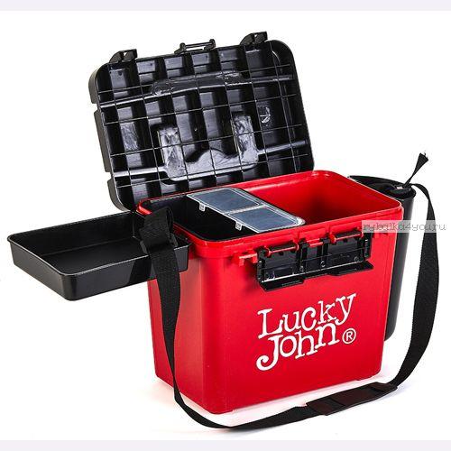 Купить Ящик рыболовный зимний Lucky John (из 6-ти частей) 38x26x31.5cm арт LJ2050