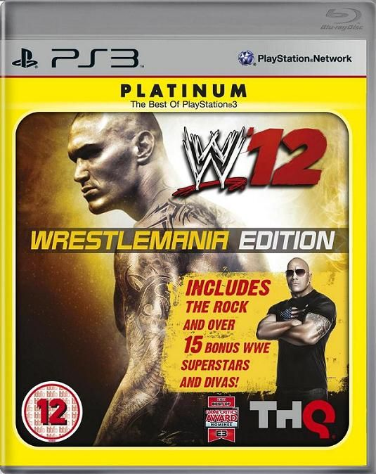 Игра WWE 12 Wrestlermania Edition (PS3)