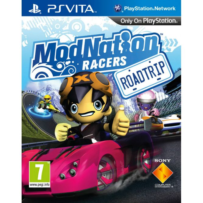 Игра Modnation Racers (PS VITA)