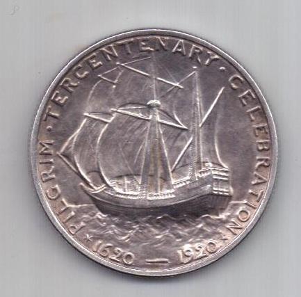 1/2 доллара 1920 г. AUNC. США