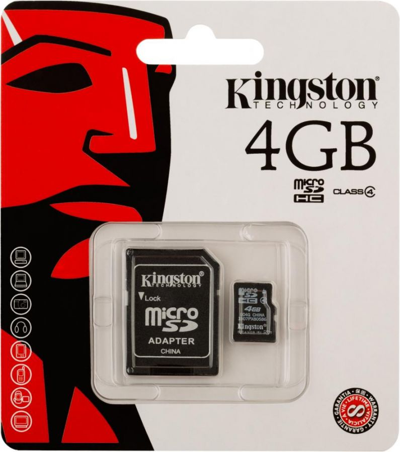 MICRO SD «KINGSTON 4GB»