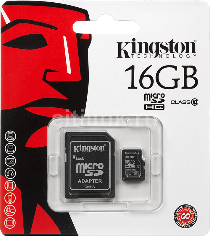 MICRO SD «KINGSTON 16GB»