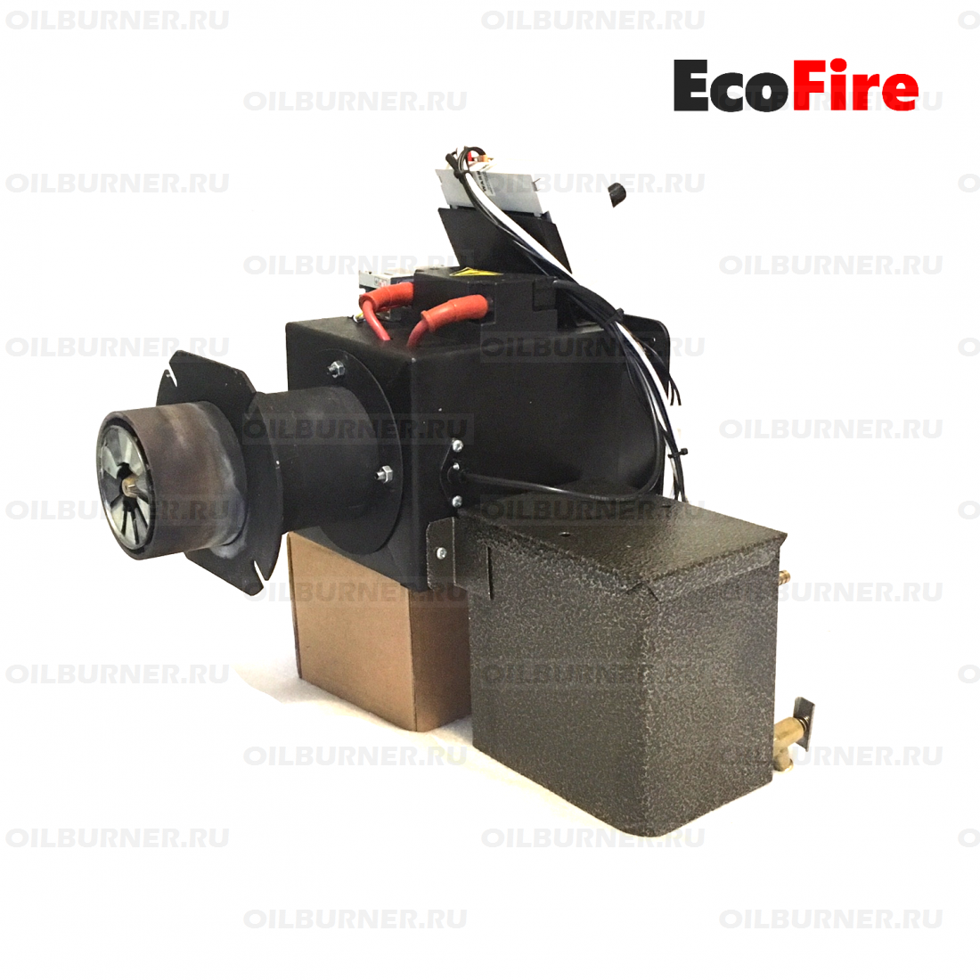EcoFire Simple 30 мощность до 30 кВт с топливоподающим агрегатом.