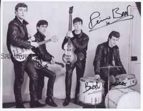 Автограф: The Beatles. Пит Бест