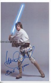 Автограф: Марк Хэмилл. Звёздные войны: Эпизод 4 – Новая надежда